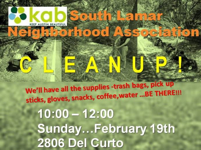 Category » SLNA Cleanup « @ South Lamar Neighborhood ...
